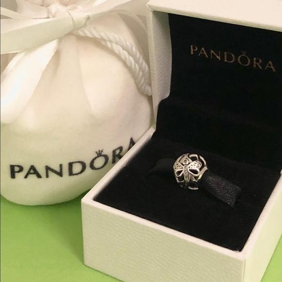 d7c83fb39 New Pandora Silver 🌿Dreamy Dragonfly Charm🌷. M_5c8ff237a5d7c6bf779e0bdb